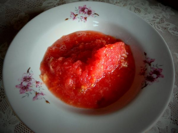 geriebene Tomaten