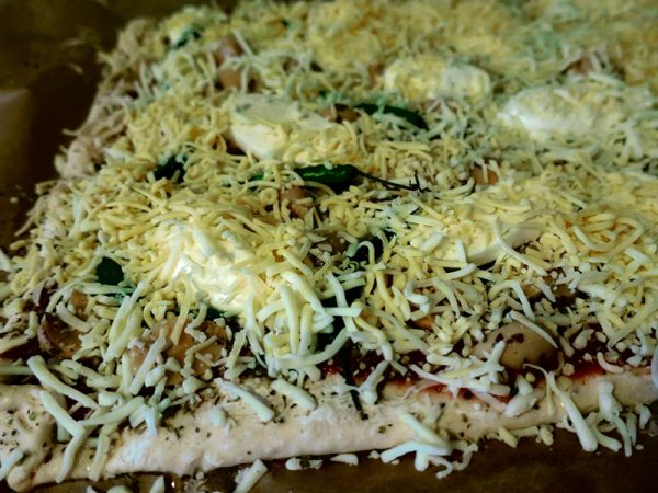 selbstbelegte Pizza Rezept